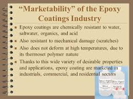 Epoxy Coating marketability
