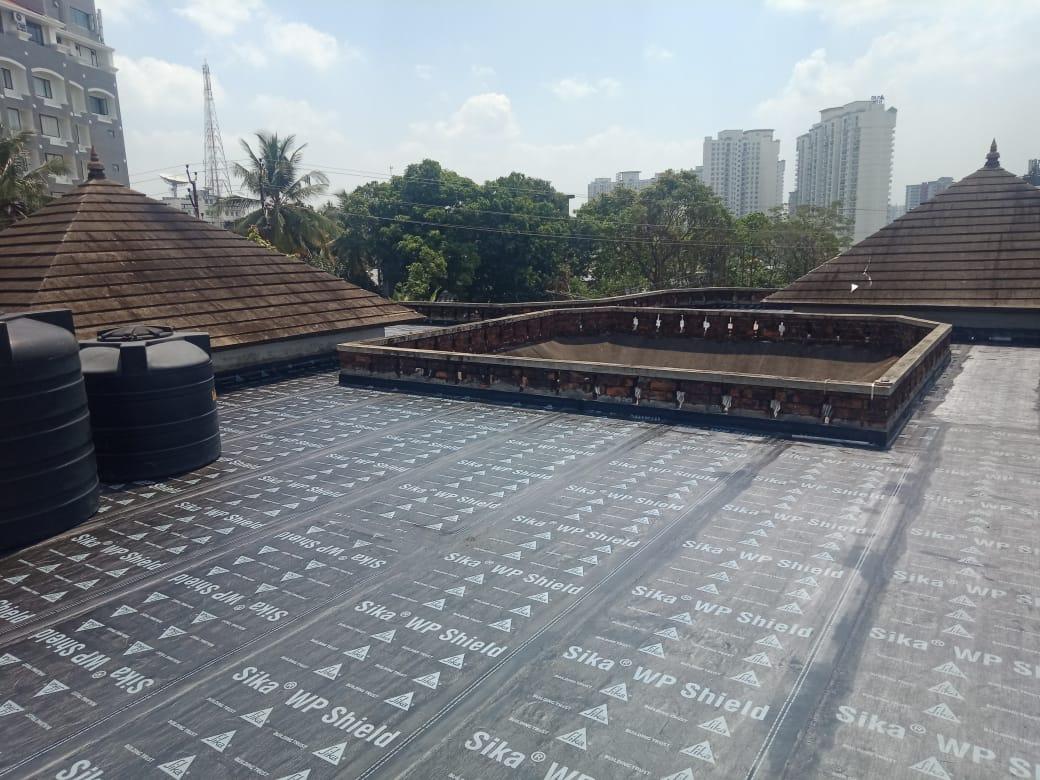 App Membrane Work - Roof