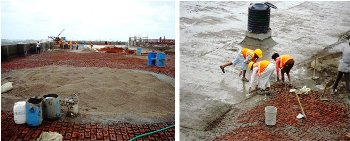 conventional method for water proofing