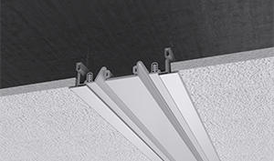 Wall and ceiling expansion joints