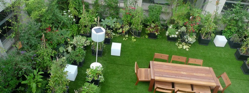 terrace waterproofing for garden making
